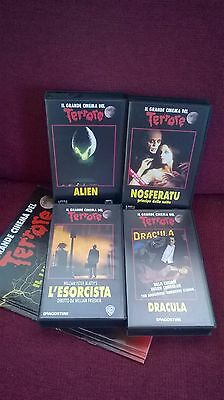 Film Horror Lotto Vhs Il Grande Cinema Del Terrore
