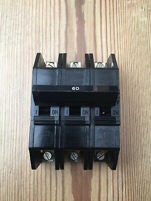 Dorman Smith 60 Amp Mcb Circuit Breaker 3 Phase Pole Loadmaster 63