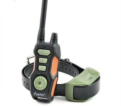 Dog Training Collar 800m Wireless Remote Rechargeable Waterproof Pet E-Collar