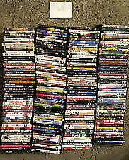 Lot of 80 New and Used DVDs, No Duplicates