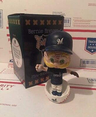 2018 Bernie Brewer Stitch N Pitch Milwaukee Brewers Bobblehead Theme Night