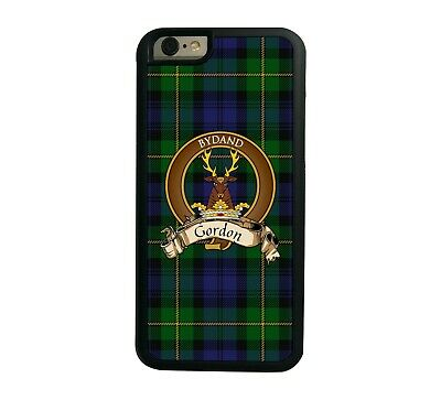 Gordon Scottish Clan Tartan Apple iPhone 7/8  iPhone 7/8 Plus case