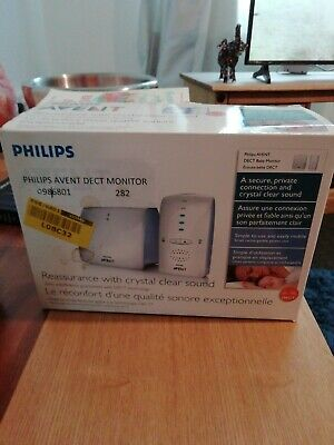 Phillips avent scd510dect baby monitor