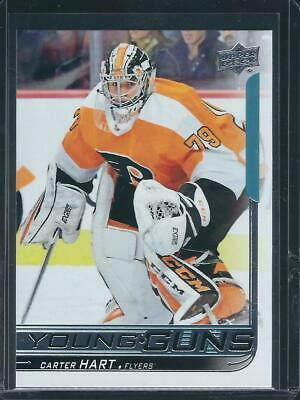 2018-19 18-19 Ud Series 2 Carter Hart Young Guns Rookie Rc #491