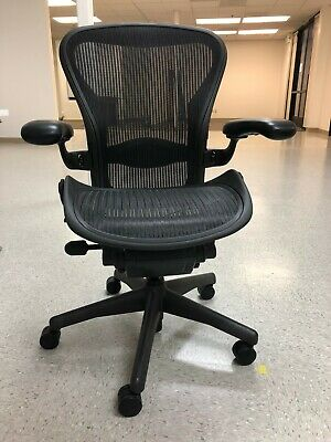 Herman Miller Aeron chair (black) - in Amazing condition