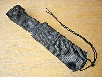 Nos Buck 187 189  Intrepid Survival Knife Molle Nylon Sheath Only No Knife
