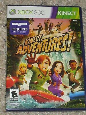 3 - XBOX360 Kinect Games-Kinect Sports/Kinect Adventures/Your Shape Fitness Evol
