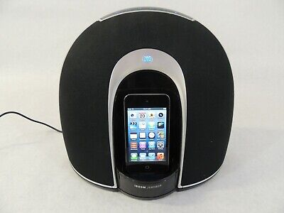 DLO iBoom Jukebox High Fidelity Speaker System W/ 8GB iPod Touch 4th Gen
