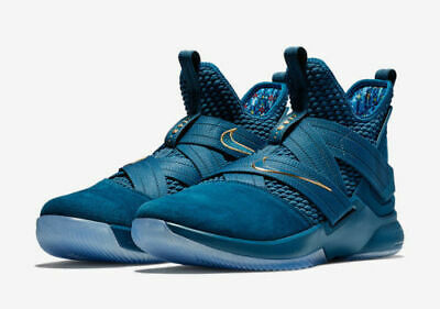 new concept 55001 6f466 NIKE LEBRON SOLDIER XII SFG Agimat Basketball Shoes Blue AO4054-400 Men's  NEW