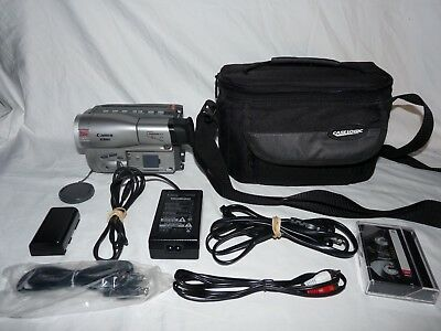 Canon ES60 ES60A HI8 8mm Video8 Camcorder VCR Player Video Transfer camera