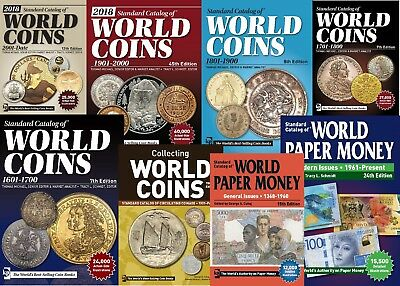Standart Catalogs of World Coins and Paper Money 1601-Date Download Link Only