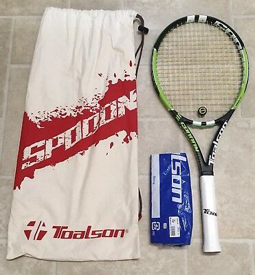 Toalson Spoon 100 Tennis Racket And Bag - Used Once - RRP £179 - Stunning