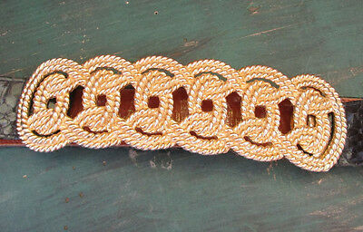Mimi Din Gold Toned Vintage Large Knotted Belt Buckle 1982 Belt Not Included