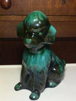 Vintage Blue Mountain Pottery Poodle made in Canada