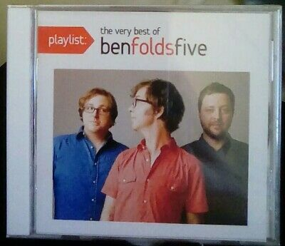Playlist: The Very Best of Ben Folds Five (2015)(New, Unopened CD) Greatest Hits