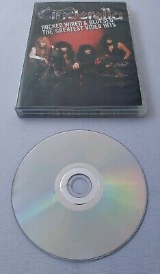 Cinderella DVD Rocked Wired & Bluesed The Greatest Video Hits Insert SMALL CRACK