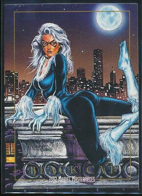1992 Marvel Masterpieces Trading Card #5 Black Cat