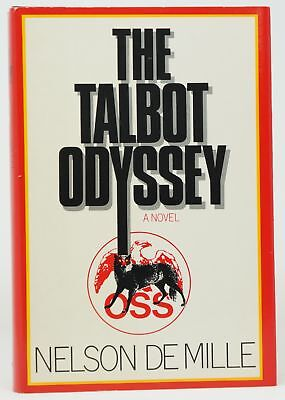 Nelson De Mille / The Talbot Odyssey Signed 1st Edition 1984