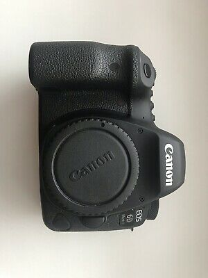 Canon EOS 6D Mark II 26.2MP Digital SLR Camera - (Body Only) VERY LOW USAGE