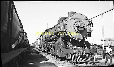 UNION PACIFIC RAILROAD UP RR SD40 #3026 Color Negative