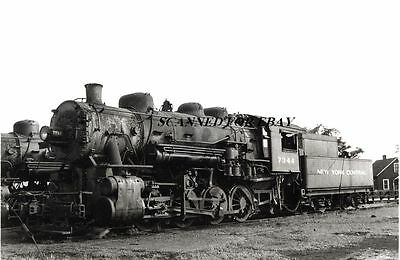 New York Central #7344 South Bend IN July 1953 Steam ORIGINAL PHOTO-Railroad
