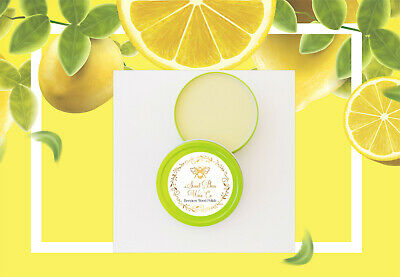 Lemon Scent All Natural Furniture Soft Wax Paste Polish Bare/Painted Woods Seals