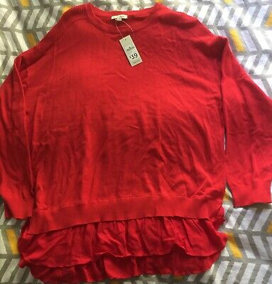 Gorgeous Red Target Jumper = BNWT