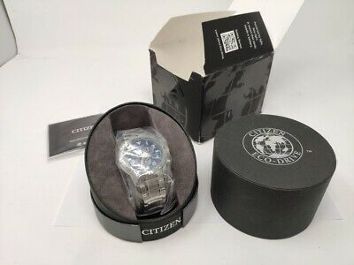 Citizen Eco-Drive Blue Dial BL5470-57L Watch for Men Brand new in box