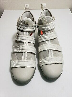 1399c04d437d NIKE LEBRON SOLDIER 11 Flyease White Basketball Shoes 918369-103 -Sz ...