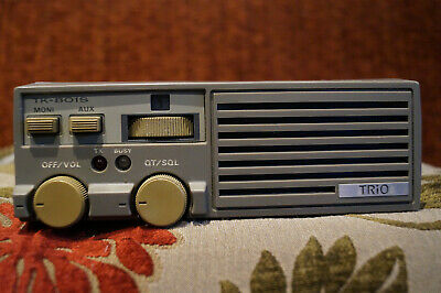 Vintage Kenwood Trio TK-801S UHF FM Land Mobile Radio 1970s 1980s collectable