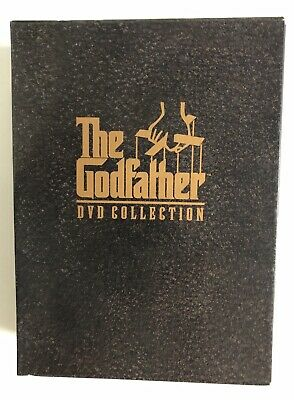 The Godfather Collection DVD Box Set 5 Disc Region 4