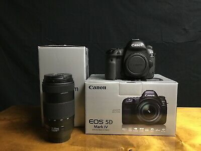 Canon EOS 5D Mark IV 30.4MP Digital SLR Camera - with Canon 70-200 f4/5.6 ii IS