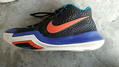 000239f79b25 NIKE KYRIE 3 Kyrache Light Black Team Orange Concord