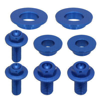 CNC Motorcycle Seat Side Panels Screws Bolts for Yamaha YZ125 YZ250 2002-2007