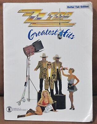 ZZ Top Greatest Hits Guitar Tab Edition Songbook