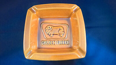 Rare and collectable Golden Fleece ashtray