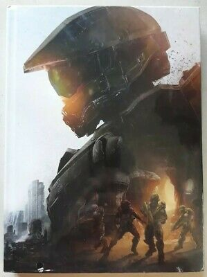 Halo 5 Guardians Collectors Strategy Guide Hard Cover New Sealed 2015