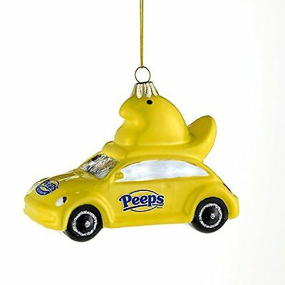 Marshmallow Easter Candy Ornament Peeps Chick Peepmobile Just Born Adler Basket