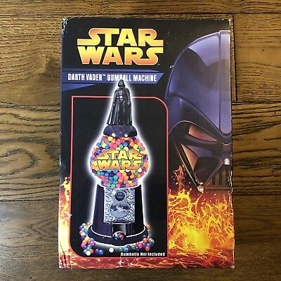 Star Wars Darth Vader Gumball Machine Episode 3 MISB New Gumballs Not Included