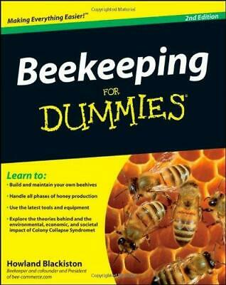 Beekeeping for Dummies 2nd Edition by Howland Blackiston - READ ITEM DESCRIPTION