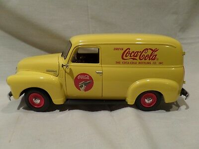 COCA COLA 1948 Chevy Panel Delivery Truck 1:18 Scale Johnny