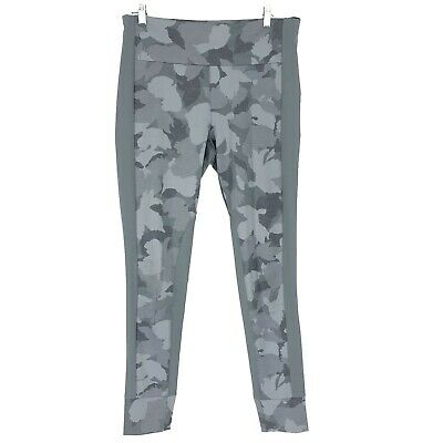 8c0a3ddd8ed350 ATHLETA COBBLESTONE GREY Heather Essex Camo Hybrid Tight Pant NEW! M ...