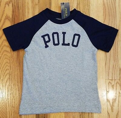 Polo Ralph Lauren Boys Polo Logo Crewneck Short Sleeve T-Shirt Sz 3T THESPOT917