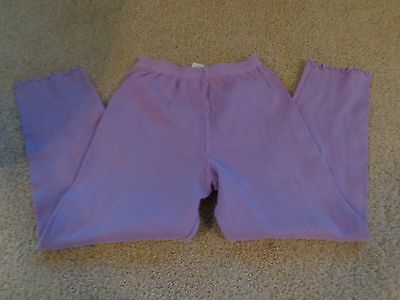 Flapdoodles Purple Solid Stretch Pull On Casual Pants Legging Girls Size 6x