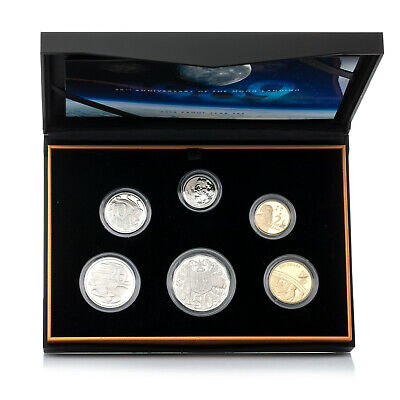 2019 Six Coin Proof Set 50th Anniversary of the Moon Landing
