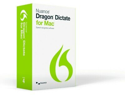Dragon Dictate for MAC Speech Recognition Software v4