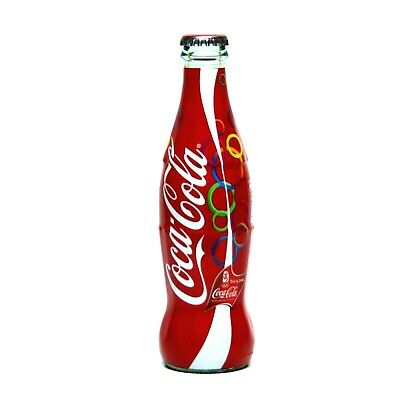 2015 COCA COLA TURKEY KIPA IZMIR EMPTY GLASS SHRINK WRAPPED TURKISH BOTTLE