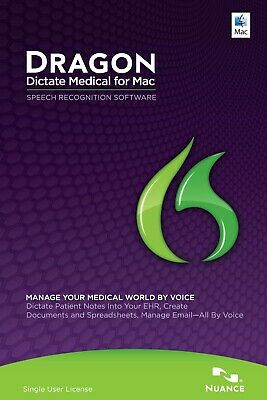 Dragon Dictate Medical for Mac Speech Recognition