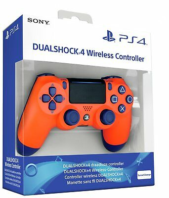PS4 DualShock 4 Wireless Controller - Sunset Orange OFFICIAL  2019 NEW