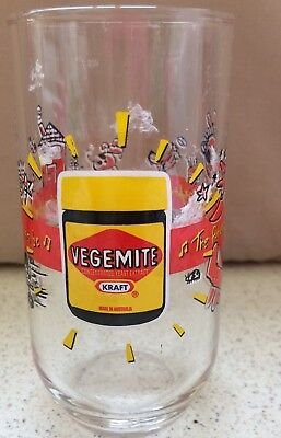 Collectable Vegemite Glass